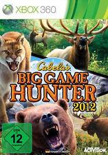 Microsoft XBOX 360 Spiel * Cabela's Big Game Hunter 2012 * Cabelas ***NEU*NEW*55