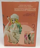 LUPIN III - Groovy Baby Shot 5 Rebecca Rossellini White Ver. Figure Banpresto