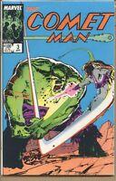 Comet Man 1987 series # 3 very fine comic book