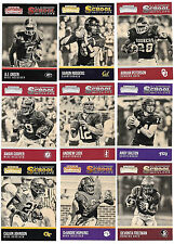 2016 Panini Contenders Draft Picks Old School football card complete 25 card set