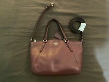 Preowned Excellent Condition Coach Pebbled Leather Mini Kelsey Satchel Crossbody
