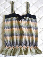LUX Top Sz M 100% Cotton VGC! Very Cute! Made in India