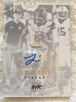 J'Mon Moore 2018 Luminance Auto # 70/99  Tigers Draft Ink Autograph