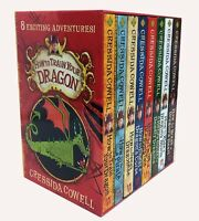 How to Train Your Dragon Collection 8 Books Box Gifts Set Cressida Cowell-New