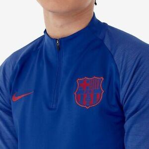 Nike F.C.Barcelona 2019/20 Strike football drill top Men's Size L Slim Fit