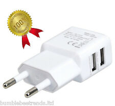 Universal 2.1A Dual USB European Travel Charger