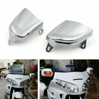 Front Chrome Headlight Cover Trims Fit For Honda Goldwing Gold Wing GL1800 26-14