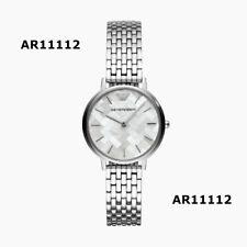 New Emporio Armani Kappa Mother Pearl Silver Women's Watch AR11112