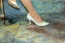 Patrizia Dini-aussergewöhnliche Lederpumps mint