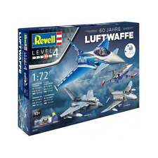 """Revell 1:72 Scale Gift-Set """"60 Years of Luftwaffe"""" Model Aircraft Kit - 05797"""