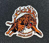 Santa Cruz Salba Tiger Ring Of Fire Skateboard Sticker 2000s reissue