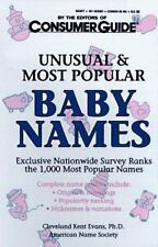 Unusual and Most Popular Baby Names