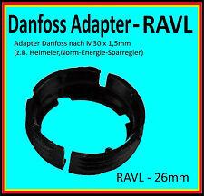 1x Adapter RAVL 26mm Danfoss Heizung Ventil Antrieb Heizkörper Thermostat Elektr