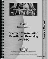 Ford Sherman Tractor Transmission Service & Parts Manual