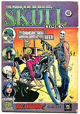 Skull Comics #2, Vg+, Underground, Richard Corben, 1970, Rip Off Press
