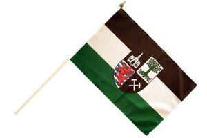 Deutschland Stadt Gelsenkirchen Stockflagge Flaggen Fahnen Stockfahne 30x45cm