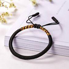 Women Men Ethnic Handmade Rope Bracelet King Kong knot Adjustable Bangle Gift