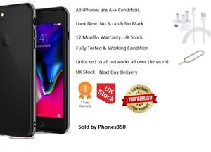 Apple iPhone 8 Plus 64GB Unlocked Grade A+ Smartphone - 12 Months Warranty