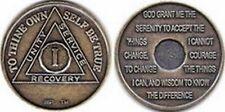 Monedas Alcohólicos anónimos