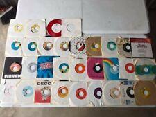 Lot of Vintage 45 Vinyl Records - Unique Picks