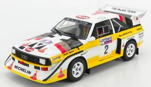 1/18 IXO Audi Sport Quattro S1 N°2 Mikkola / Hertz Rally 1985 Shipping Home
