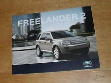 Land Rover Freelander 2 Brochure 2010 -TD4 & SD4 - S GS XS HSE