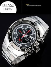PULSAR by SEIKO COLLECTION CHRONOGRAPH TACHYMETER WATCH PF3527