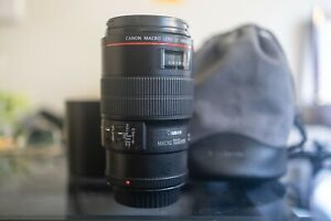 Canon Macro 100mm F2.8L EF Lens for Digital SLR Camera in Perfect Condition