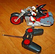 Remote Control Shadow The Hedgehog RC Motorcycle Sonic Sega All Stars Racing RC