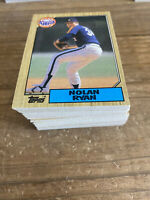 (100) 1987 Topps Nolan Ryan #757 Houston Astros NM+