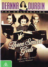 THREE SMART GIRLS DEANNA DURBIN 1936  DVD R4 NEW