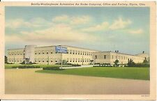 Bendix-Westinghouse Air Brake Company Office and Factory Elyria OH Postcard