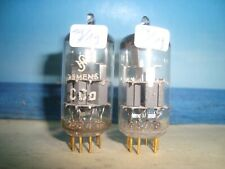 CCa SIEMENS # ( E88CC , 6DJ8 , 6922) matched and balanced Pair #  NOS (1393)