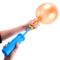 1pcs Pump for Foil Balloons Portable Hand Pump Inflator Hand Push Air Pump 3C