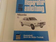 Reparaturanleitung Mazda 818 & RX-3 / 70er Jahre @ WIE NEU  @