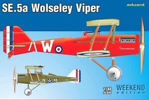 Eduard Weekend Edition 1:48 SE.5a Wolseley Viper Aircraft Model Kit