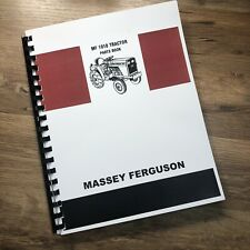 Massey Ferguson 1010 Tractor Parts Manual Catalog Book Schematic Exploded Views