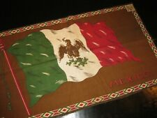 1910's B1 Tobacco Felt Premium - National Flags Series - Extra Large - Mexico