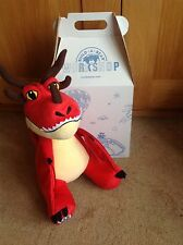 BNWT Build A Bear How to Train your Dragon Hookfang , BAB box and certificate ,