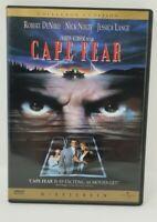 Cape Fear Robert De Niro Jessica Lange DVD movie 2-Disc Set Collectors Edition