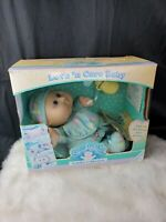 Cabbage Patch Kids Love'N Care Baby Doll 1992 Toddler purple eyes Emily Elise