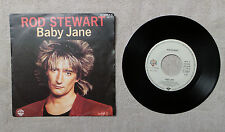 "DISQUE VYNILE 7"" 45T SP / ROD STEWART ""BABY JANE"" 1983 WARNER BROS. 92-9608-7"