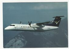 Instersky Dash DHC-8 Aviation Postcard, A994