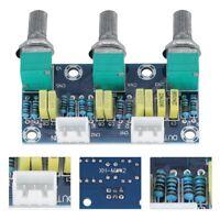 DIY Kit Audio Volume Pre-Amplifier Board Preamp Module HIFI Amplifier Subwoofer