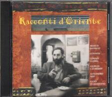 "FRANCO BATTIATO - RARO CD 1997 "" RACCONTI D'ORIENTE "" LUCIO QUARANTOTTO"