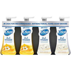 Dial Complete Anti Bac teria Foaming Hand Soap - Variety Pack - 7.5 oz 4 Bottles