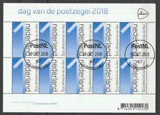 Nederland NVPH 3695 Dag van de Postzegel Crouwel 2018 Gestempeld