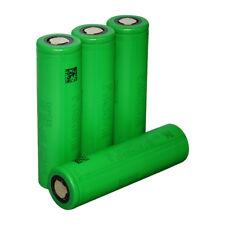 4x Sony US 18650 VTC6 3000mAh 30A Flat Top Rechargeable Li-ion Battery for Vape