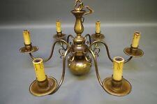 Plafonnier en Laiton Lustre 65 CM Diamètre Lampe