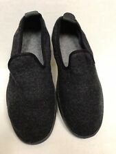 Allbirds Mens Sz 11 Natural Black on Black Wool Lounger Shoes Loafer NEW